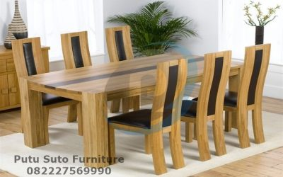 Meja Makan Solid Glamour PS-325